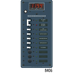 120V A SERIES PANEL 10 POS MULTIMETER