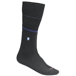 WATER BLOCKER SOCK W/CUFF SEAL,BLK
