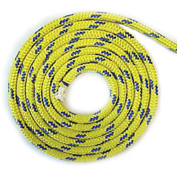 7/16  DINGHY TOW ROPE YELLOW/BLU T