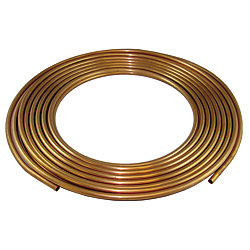 3/4IN COPPER REFRIG TUBING, 60FT COIL