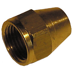 1/4IN BRS SHORT FLARE NUT