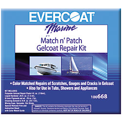 4OZ MATCH & PATCH GELCOAT REPAIR KIT