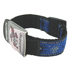 "Thin Watch Band with Thin Clip Closure - 3/4"" Wide Lightweight Band"