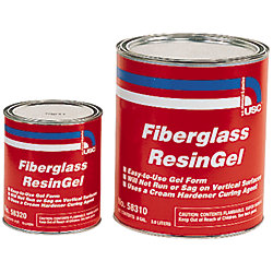 QT FIBERGLASS RESIN  GEL