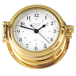 CUTTER QUART CLOCK BRASS 4-5/8INBASE