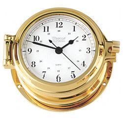 CUTTER QUART CLOCK BRASS 4-5/8INBASE