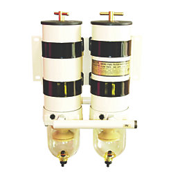 DUAL MANIFOLD FILTER W/O VALVES
