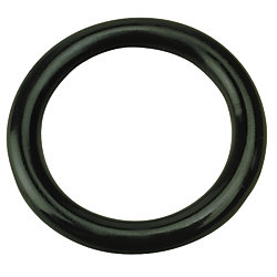 NYLON RING  BLACK  3/8INX2IN