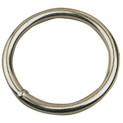 STAINLESS STEEL RING 3/16INX1-1/4IN