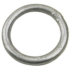 GALVANIZED ROUND RING 5/16INX2-1/2IN