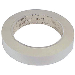 3/4IN WHT SCOTCH PLASTIC TAPE 471 (36YD)