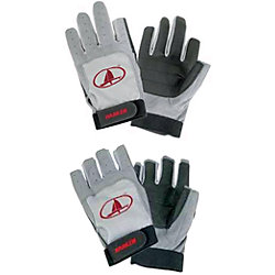 GRAY FULL FINGER GLOVE SMALL