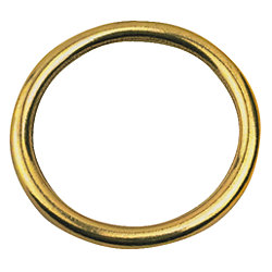 BRONZE ROUND RING 3/16IN X 1-1/4IN
