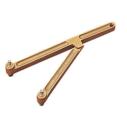 BRONZE HEAVY HINGED DECK PLATE KEY