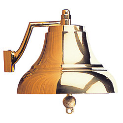 8IN HEAVY DUTY BRASS BELL