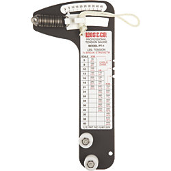 PRO RIG TENSION GAUGE 1/4IN->>3/8IN