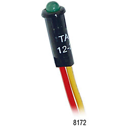 12/24V GRN LED INDICATOR LIGHT 5/32IN