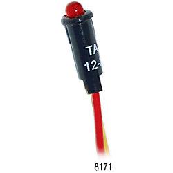 12/24V RED LED INDICATOR LIGHT 5/32IN