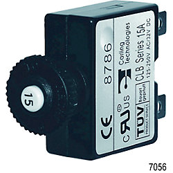 15A PUSH BUTTON CIRCUIT BREAKER
