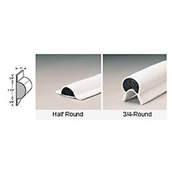 3/4 ROUND GUNNEL GUARD, 1-1/4IN