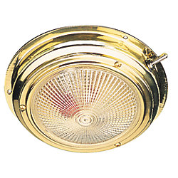 BRASS DAY/ NIGHT DOME LIGHT
