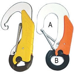 Double Action Safety Hooks