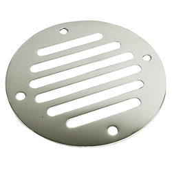 STAINLESS DRAIN COVER 3-1/4IN