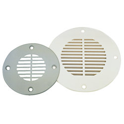 ABS DECK DRAIN 5-5/8IN GREY