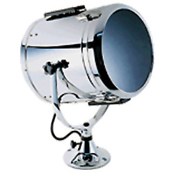 10IN WHT SEARCHLIGHT W/STD PEDESTAL
