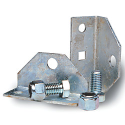 SWIVEL BRACKET W/NUTS & BOLTS (2)