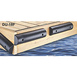 FLAT BLACK BUMPER 4.5IN WX2.25INHX18L*