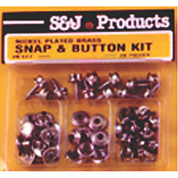 CANVAS SNAP & BUTTON KIT