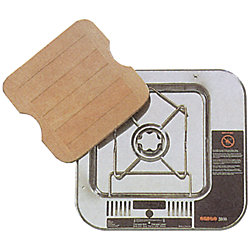 ALCOHOL SINGLE BURNER W/BOARD