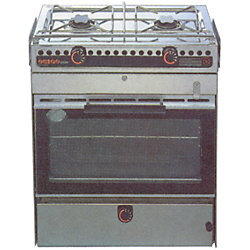 6000 2 BURNER ALCOHOL OVEN