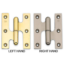 POL BRASS LIFT OFF HINGE LH EACH