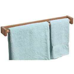 LONG TOWEL RACK, 22INX3INX1-7/8IN TEAK