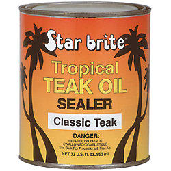 TROPICAL TEAK OIL/SEALER CLASSIC 16 OZ