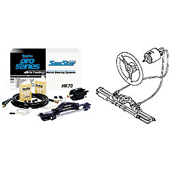16FT SEASTAR PRO NFB OB STEERING KIT