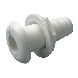 POLYPROPYLENE WHITE THRU-HULL 5/8IN