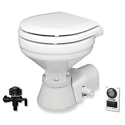 24V QUIET FLUSH TOILET HI-BOY BOWL