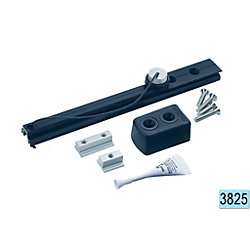 SYS A SLIDER TRACK END KIT FLAT