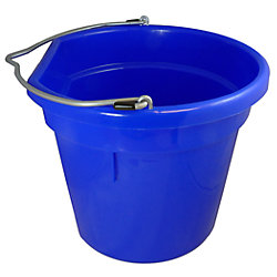 20QT BLUE FLAT BACK BUCKET