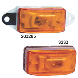 EAR MOUNT AMBER PC CLEARANCE LIGHT