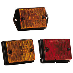 STUD MOUNT AMBER SIDE MARKER LIGHT