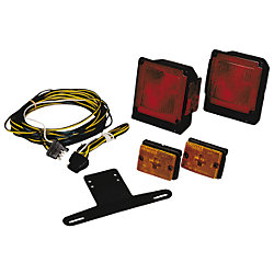 SUBMERSIBLE TRAILER LIGHTS UNDER 80FT