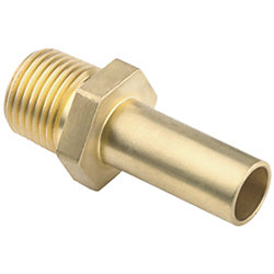MALE STEM 3/8INNPTX15MM STEM BRASS