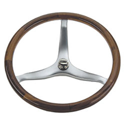 16IN WHEEL TEAK TAPERED SHAFT