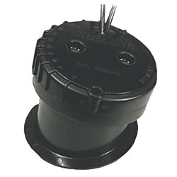 ADJUSTABLE IN HULL DEPTH TRANSDUCER