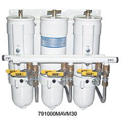 TRI 1000 FILTER SYSTEM METAL BOWL 30MIC