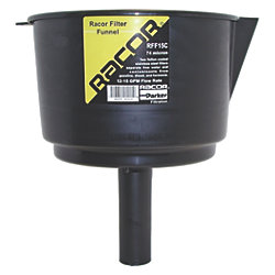 12GPM FUEL FILTER FUNNEL 10X8.5IN DIA